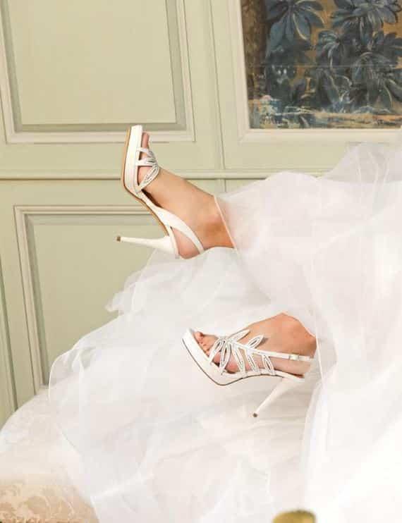 sandali sposa 2015 Albano collezione