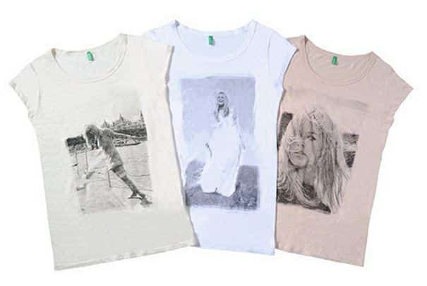 t-shirt Brigitte Bardot per Benetton