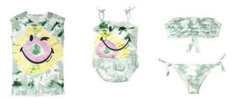 Benetton Smiley pe 2015 beachwear