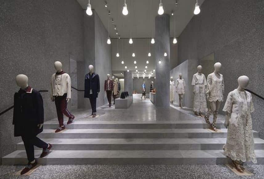 Valentino negozio Roma