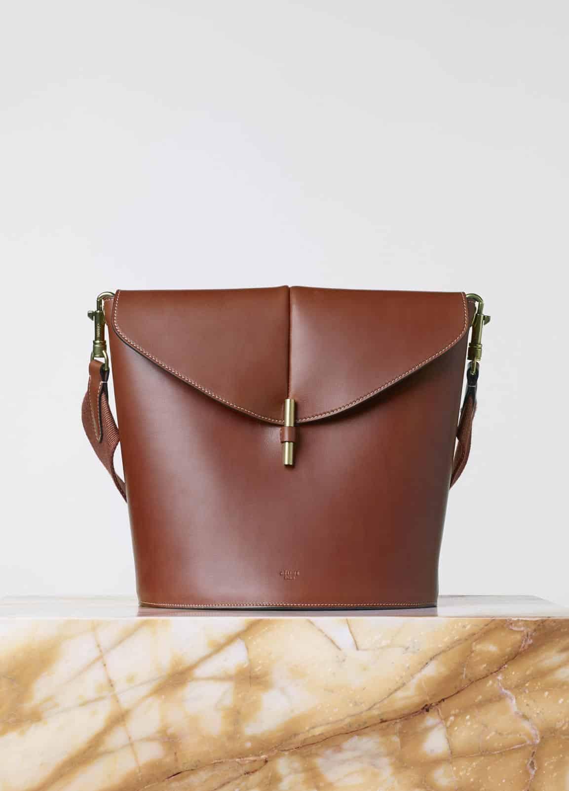 Celine sangle camera bag in brick