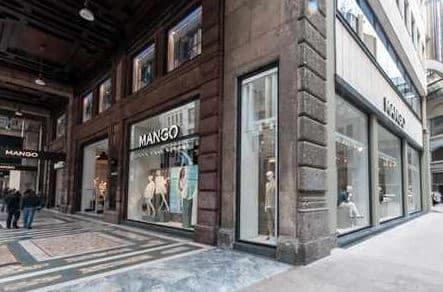 Mango negozio Milano