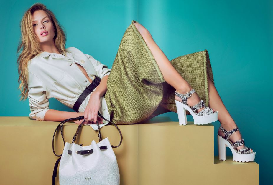 Tata sandalo stampa pitone underground 39.95 euro