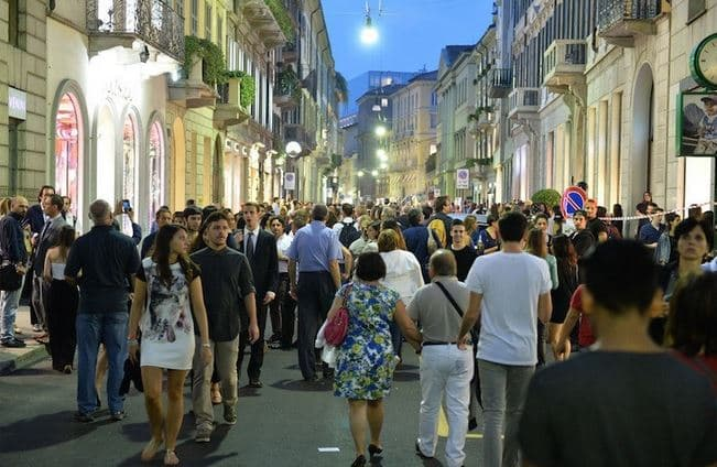 Vogue Fashion Night Out Milano Firenze