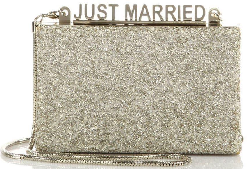 borse da sposa Kate Spade glitter