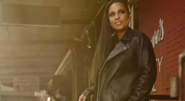 Alicia Keys per Levi's