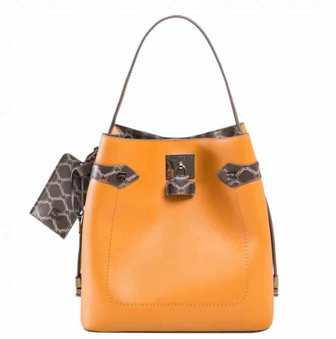 Borse V73 2016 autunno inverno arancio