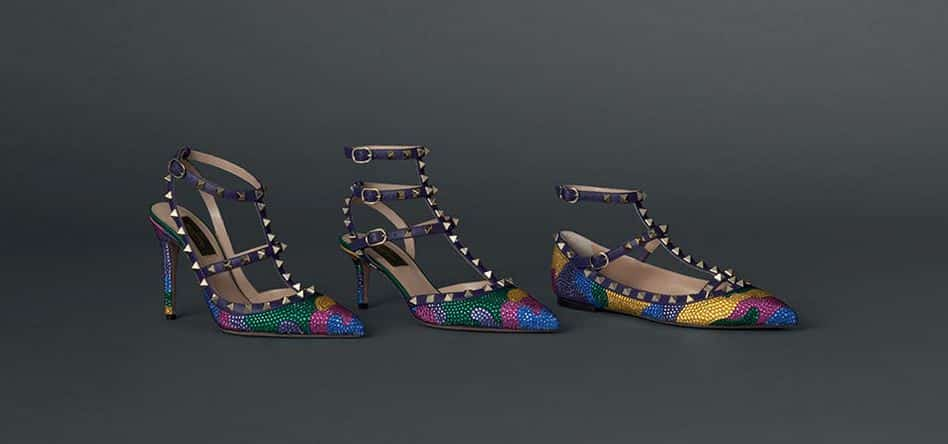 Valentino scarpe 2016 Rockstud multicolor
