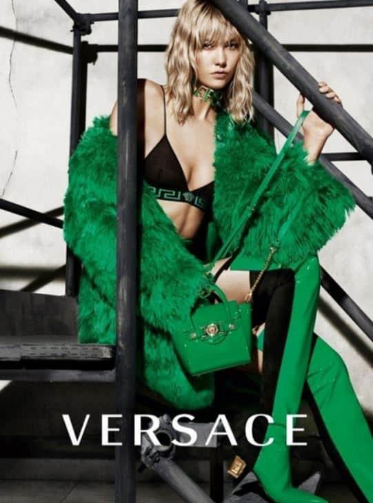 Karlie Kloss per Versace