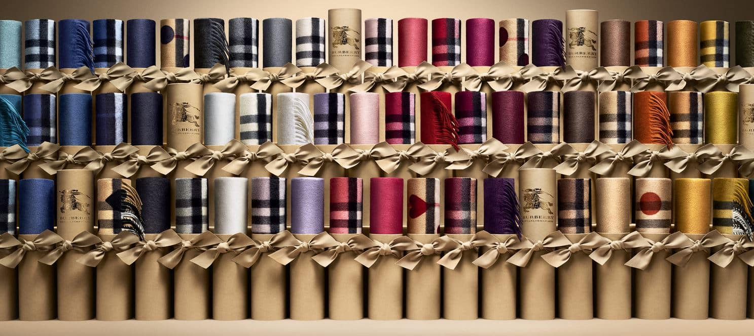 Burberry Scarf Bar sciarpe