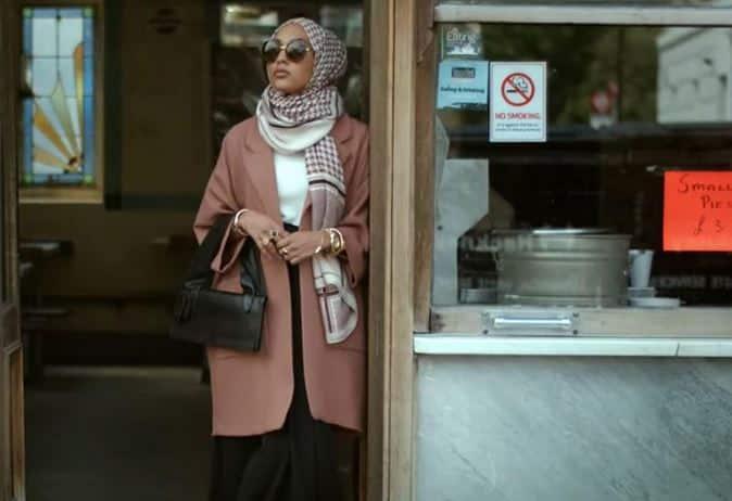 Hm prima modella musulmana