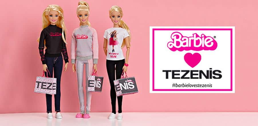 Tezenis flasghip store milano Barbie collection