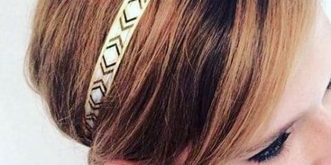 Tatuaggi per capelli nuova moda come applicarli