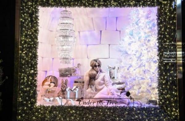Vetrine di Natale più belle Bloomingdale