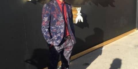 Marco Bocci per Patrizia Pepe uomo ai 2016 2017