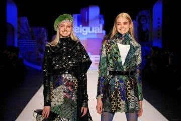 Desigual vestiti inverno 2017 trend
