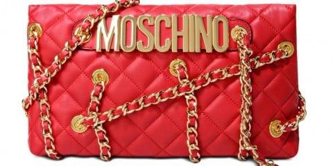 Moschino borse primavera estate 2016 pochette