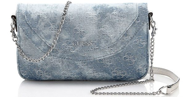new concept 715b8 2484c Guess Borse autunno inverno 2016 2017: tutte le Denim Bag ...