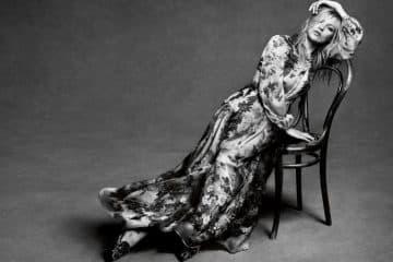 Kate Moss per Alberta Ferretti inverno 2017