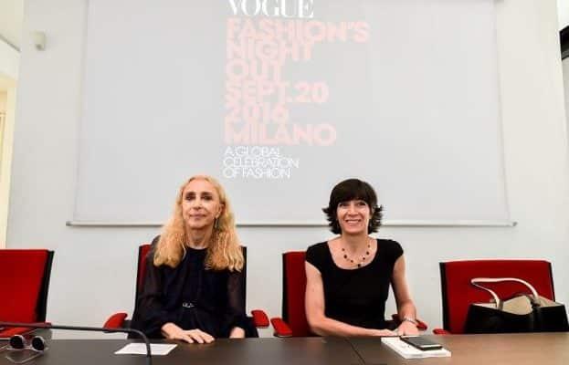 Vogue Fashion Night Out Milano 2016 VFNO