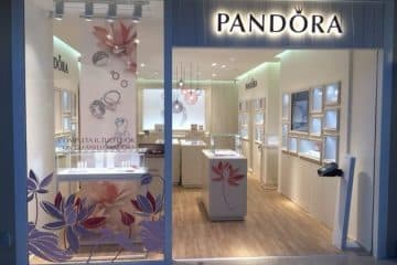 negozio Pandora Sardegna