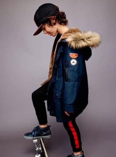 Zara Kids 2016 2017 capi spalla