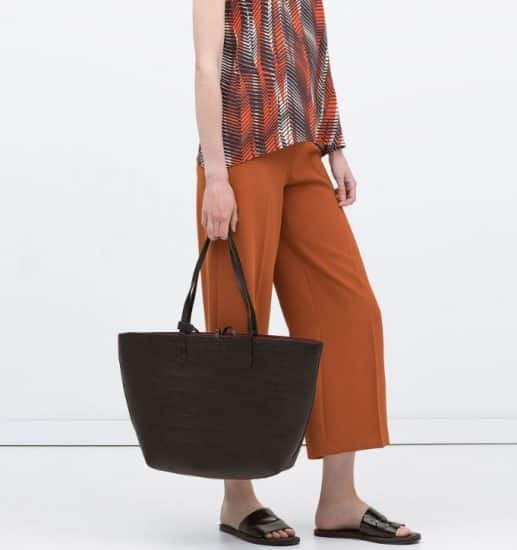 borse Zara autunno inverno 2016 2017 shopper