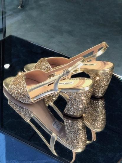 save off de7cb dfe79 Miu Miu scarpe estate 2019 prezzi | Purse & Co